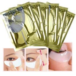 1/3/5 Pair Woman Collagen Crystal Eye Mask Anti-Aging Eyelid