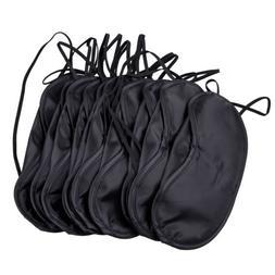 10 Pcs Eye Mask Shade Cover Blindfold Night Sleeping Aid Shi