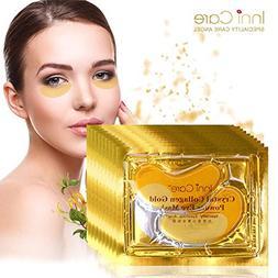 200pcs=100packs Gold Crystal Collagen Eye Mask Hotsale Eye P