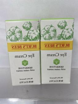 Burt's Bees Eye Creme Sensitive 98.9% Natural Cotton Wrinkl