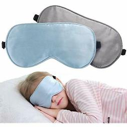 2 Pack Children Eye Mask Smooth Blindford Travel Relax Suppe