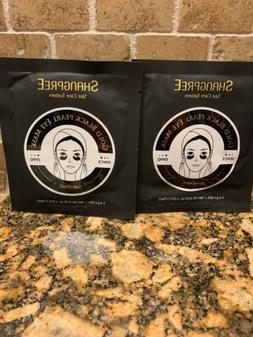 2 x Shangpree Gold Black Pearl Hydrogel Eye Mask-Korean Beau