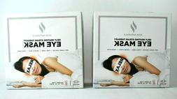 2 x JUVE NATURALS Self Heating Aromatheraphy Eye Mask - Unsc