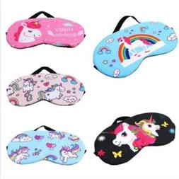 2019 Lovely Sleep Unicorn <font><b>Mask</b></font> Soft <fon