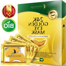 24 K Gold Eye Mask Collagen under Eye Pads Mask Anti Dark Ci