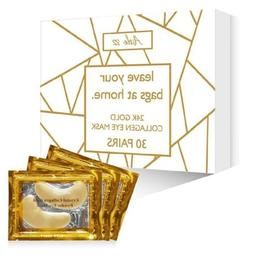 Aisle 82 30 Pairs of 24K Gold Eye Mask for Sensitive Skin