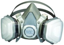 3M Dual Cartridge Respirator Assembly 3M 07193, Large