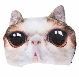 3D Animal Cat Dog Face Eye Mask Eyepatch Travel Sleeping Bli