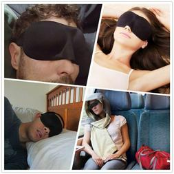 3D Eye Mask Night Relax Rest Sleep Soft Padded Shade Cover S