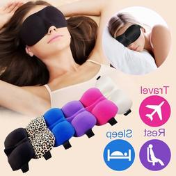 3D Eye Mask Sleep Soft Padded Shade Cover Rest Relax Sleepin