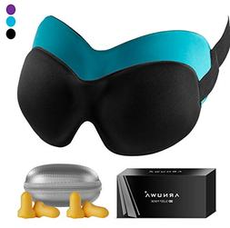 3D Sleep Mask - Upgraded Contoured Comfortable Light Blockin