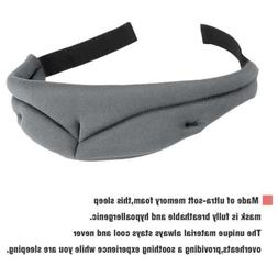 3D Sleep Mask Memory Foam Contoured Eye Mask Cover For Men W