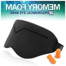 BELONGSCI New 3D Sleep Mask for Sleeping Contoured Shape Ult