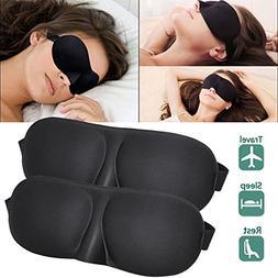 TRADERPLUS 3D Sleep Masks, Best Sleeping Contoured Blinder E