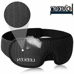 3D Sleeping Eye Mask - 100% Lights Blockout For Men Cool 2DA