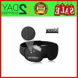 3D Sleeping Eye Mask, Lights Blockout Sleep Mask for Men Wom