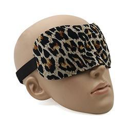 uxcell® 3D Sleeping Mask Eyes Lightweight Super Soft Padded