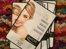 7 packs Iroha Collagen Eye Mask 24K Gold Foil Tissue Patches