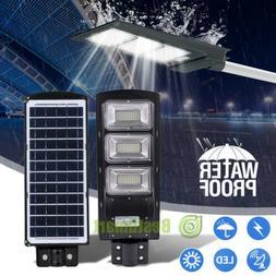 90000 Lm Outdoor LED Street Light 90W Dusk To Dawn Waterproo