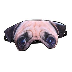 ACTLATI Cartoon Animal Eye Mask Sleeping Blindfold for Trave