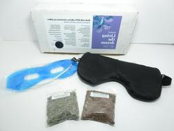 ASUTRA Silk Eye Pillow Filled With Organic Lavender & Flax S