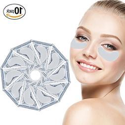 Anti Aging Treatments Set / Kit of 10 Pairs Eyes Milk White