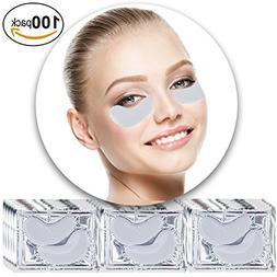 Anti Aging Treatments Set Kit of 100 Pairs Eyes Milk White C