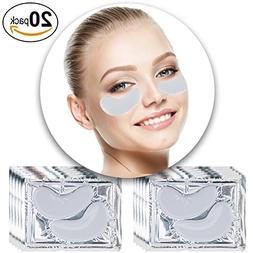 Anti Aging Treatments Set Kit of 20 Pairs Eyes Milk White Co