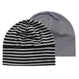 Baosity 2Pcs/Lot Sleep Headcap Chemo Hats Hair Loss Cancer C