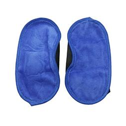 Buorsa 2 Pcs Royal Blue Eye Mask Technology For Relaxing Sle