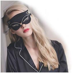Cute Animal Sleep Eye Mask, Aimell Sexy Fox Cat Double-side