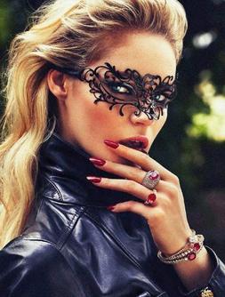 Entangling Style White Lady Laser Cut Venetian Masquerade Ma