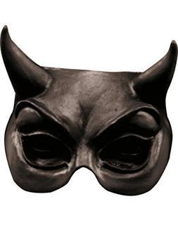 Evil Eye Black Half Face Scary Latex Horror Halloween Mask b