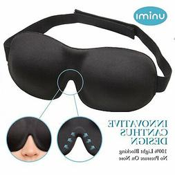 Eye Mask for Sleeping, Unimi Sleep Mask for Men Women, Block