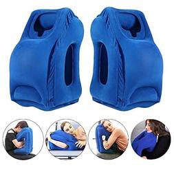 Fast Inflating Travel Pillows with Ergonomic Head Neck Shoul