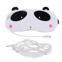 Fityle Eye Mask USB Heated Hot Steam Eye Mask Designed to Re