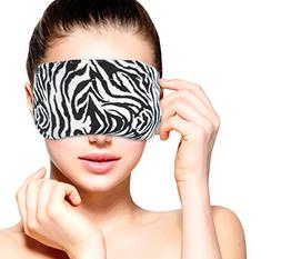 Heated Microwavable Eye Mask by FOMI Care | Lavender Scented