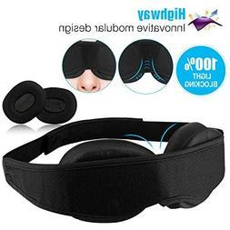 Highway Modular Sleep Mask  Eye Mask for Sleeping - No Press