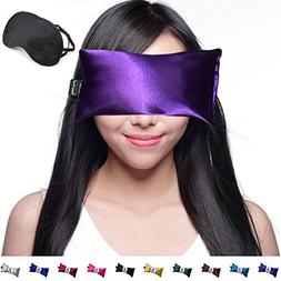Hot Cold Unscented Eye Pillow and Eye Mask for Sleep, Yoga,