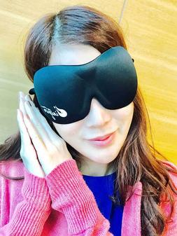 Inspire 3D Sleep Mask with Carry Pouch and Free Ear Plugs
