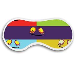 JessPad Deep Rest Sleep Mask Cotton Blends Eye Masks Funny E