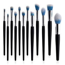 KaiCran 12 Pcs Beauty Makeup Brushes Set Advanced Beauty Cos
