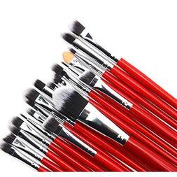 KaiCran 20 Pcs Pro Makeup Set Premium Natural Hair Foundatio