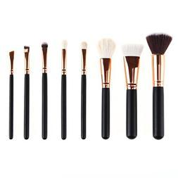KaiCran 8 Pcs Pro Makeup Brush Set tools Make-up Toiletry Ki