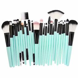 KaiCran New make up brush 25pcs Cosmetic Makeup Brush Blushe