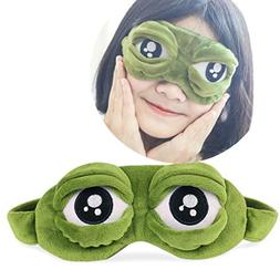 Kanzd Cute Eyes Cover The Sad 3D Eye Mask Cover Sleeping Res