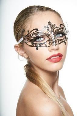 Kayso International Inc Men's Chrome Metal Masquerade Collec