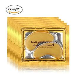 Lolicute 24K Gold Eye Mask Power Crystal Collagen Eye Pads E