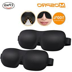 MOSPRO 3D Sleep Eye Mask Cover - Ideal Gift for Woman & Man