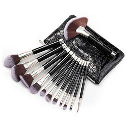 Makeup Brush Set, Anjou 12pcs Essential Cosmetic Brushes for